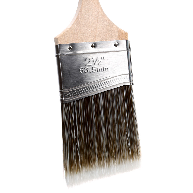 China Wedge Shaped Bristle Paint Brush