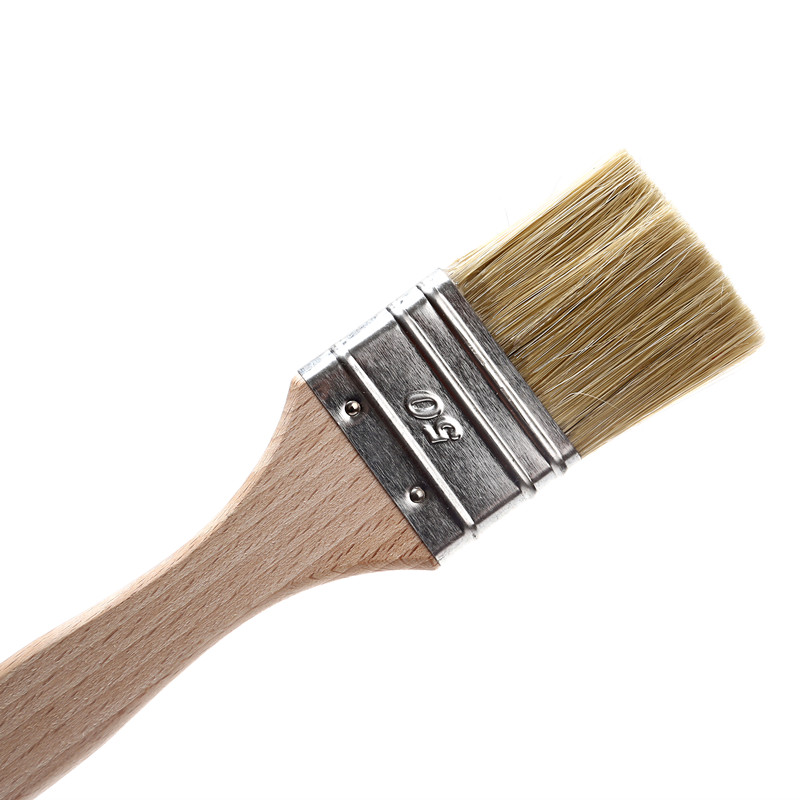 Blend Paint Brush Used on Board