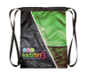 BSP11631-1-F Exercise Jacquard Green Athletic Gymbag With Compartments