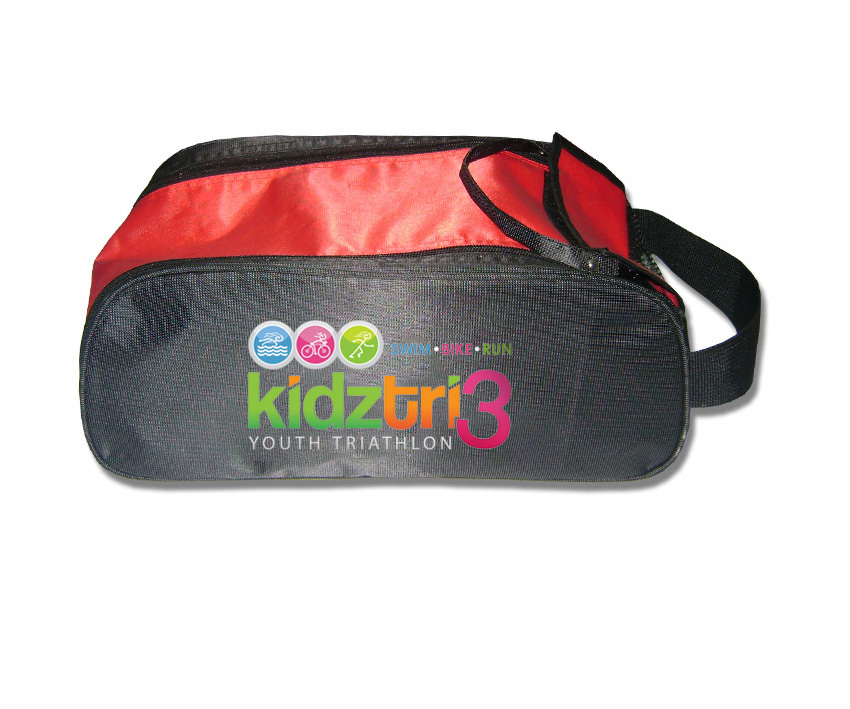 BSP11534 Womens Polyester Sport Shoe Bags With Compartments