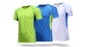 RU81112 Men Sports Fitness Wear Compression Shirts with Custom Printing