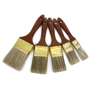 Plastic Handle Boar Bristle Cheap Paint Brush