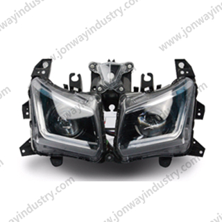 T-Max 530 Headlight LED Neon