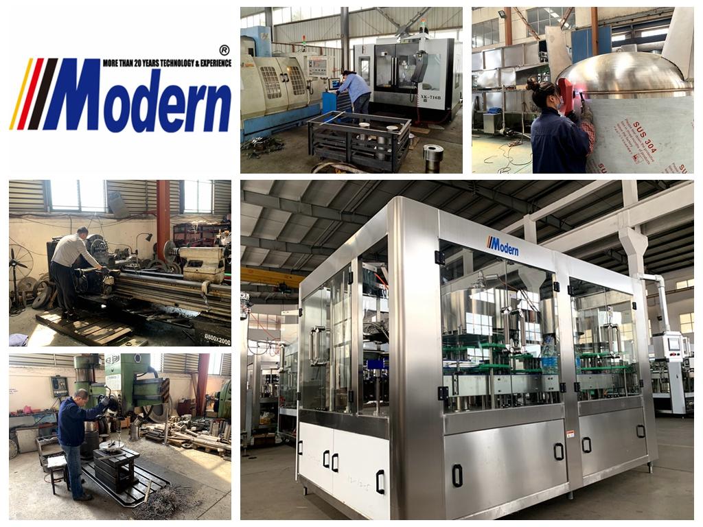 Filling machine parts machining