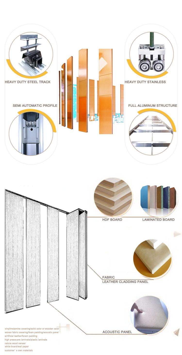 partition aluminium frame