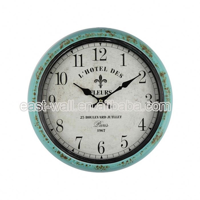 Customization Antique Style Large Bathroom Simple Wall Clock