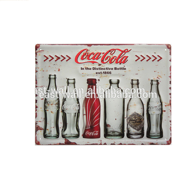 Hot Custom Business Outdoor High Quality Wall Hanging Metal tin Sign Made in China