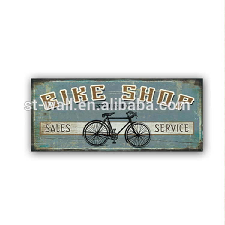 Art Work Craft Buy Bulk Metal Signs Vintage Style Home Decoration For Boy BIke