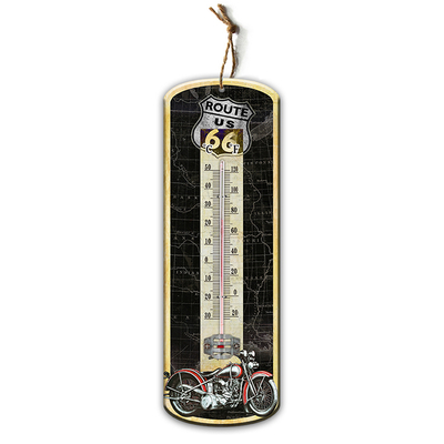 Hot Sale Wholesale Indoor Decorative MDF Wall Thermometer
