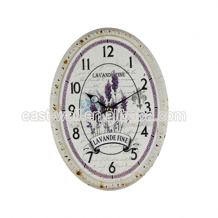 Price Cutting Vintage Style Iron Wall Clock With Hidden Safe