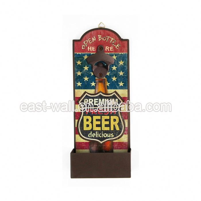 Manufacturers Metal Wall Mounted Bottle Opener