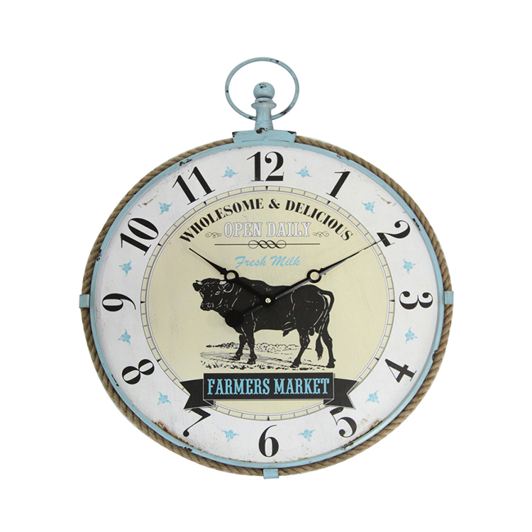 New Design MDF Digital Antique Promotional Wall Clock Home Decoration