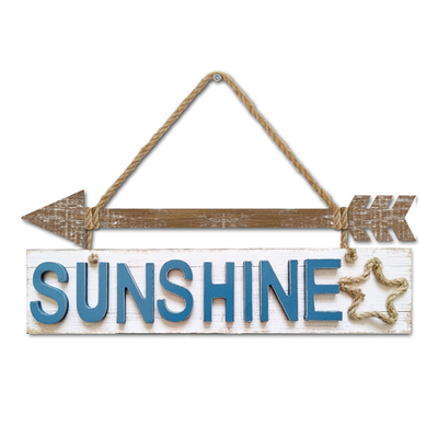 Wholesale Custom 3d Holiday Wooden Signs Wall Hanging Plaque