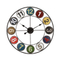 Wholesale Cheap New Design Home Decorative Silent Round Wall Clock