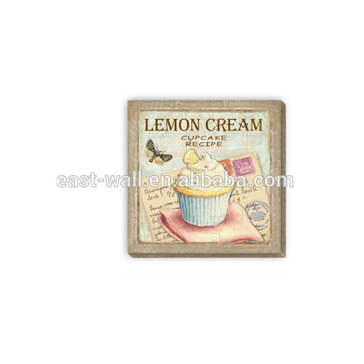 Wholesale Retro Tin Signs Sales Canvas Printing Decorative Wall Plaque Sweet Home
