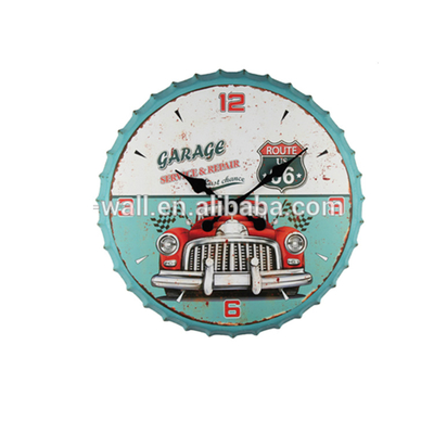 Home Decor Interior Household Ware Highest Level New Innovative Bottle Cap Wall Clock