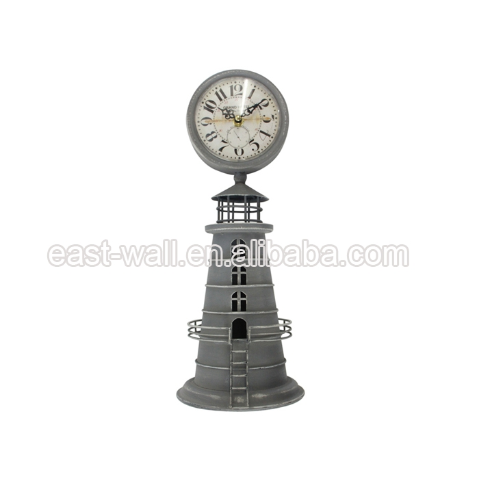 Lowest Price Art Work Craft Antique Style Table Clock For Sale