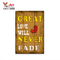 4 Choice Excellent Quality Customize Interior Home Decoration Wooden Plaques Stand