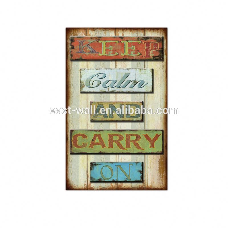 Brand New Lightweight MDF Wall Plaques Decor Wood Sign
