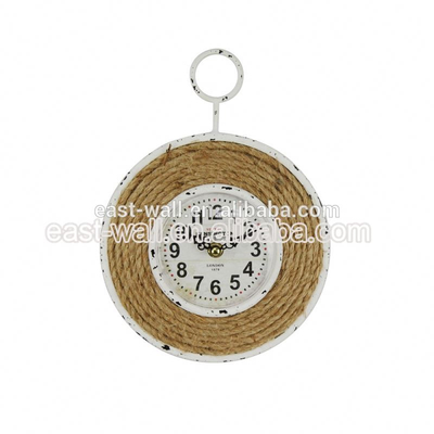 Cheap Price French Country Tuscan Style Wall Clock 3D Diy Luxury