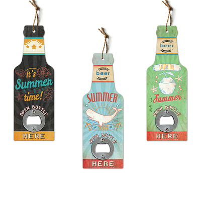 Factory design cheap beer bottle openers with custom logo for wholesale
