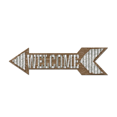 Wholesale Custom Word Sign Outdoor Decorative wall Hanging plaque Wood Sign