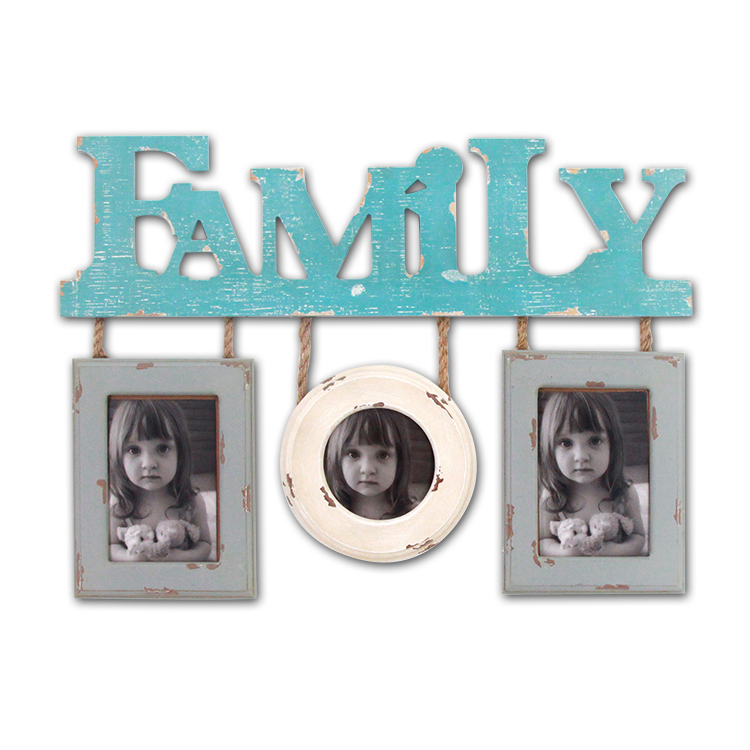 Living Room Wall Decorative MDF Combination Hanging Photo Frame