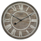 New Coming Craft Art Wooden Round Vintage Roman Numerals Mdf Wall Clock