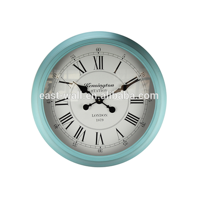 Hot Sale Iron Decorative Customized Logo Design Acrylic Wall Clocks