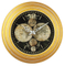 Hot Selling Fashionable Gold High End Luxury Custom Retro Wall Clock China