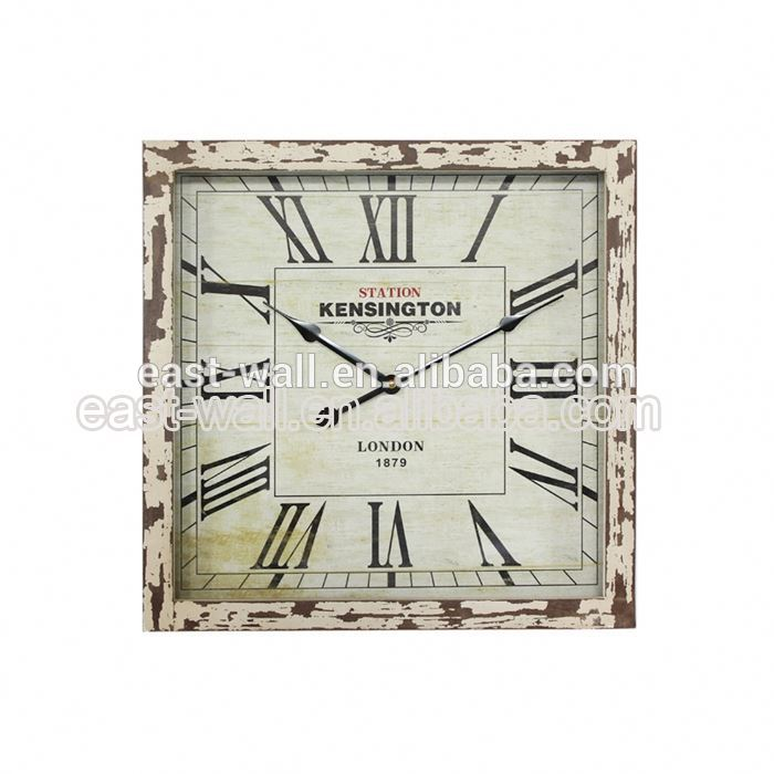 Export Quality Cheap Price Old Fashioned Tyre Wheel Shaped Wall Clock
