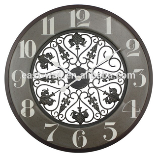 Wall Decor Clocks Arabic Numerals White Hands