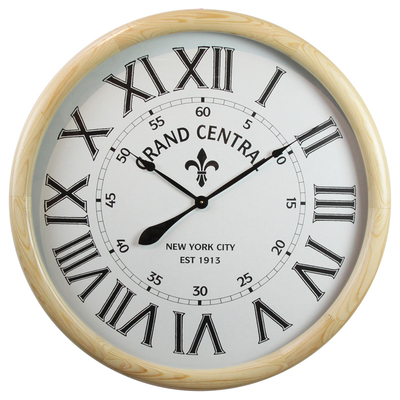 Home Deco Customizable Wood Craft Wall Clock, Wood Wall Clock Wholesale
