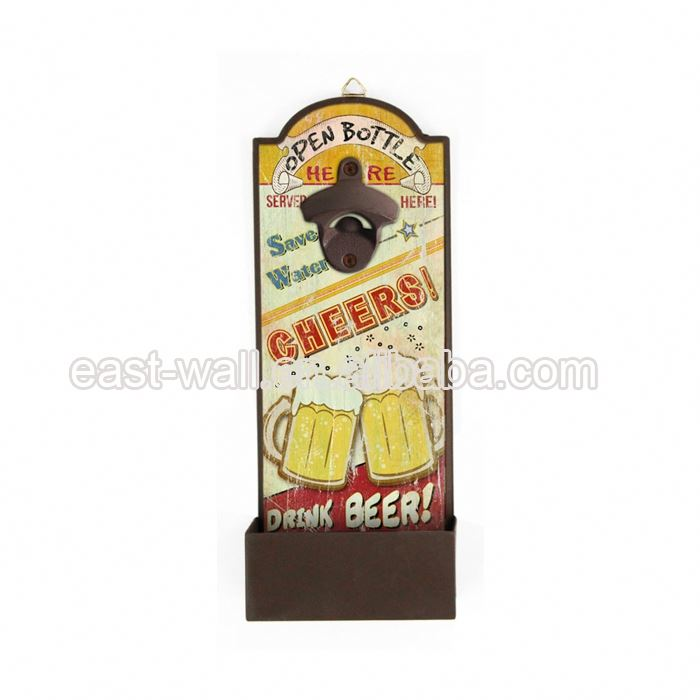 Popular High Quality Retro Sublimation Blank Iron Bottle Opener