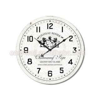 Humanized Design Creative Items Mdf Thin Wall Dialing Clock Factory