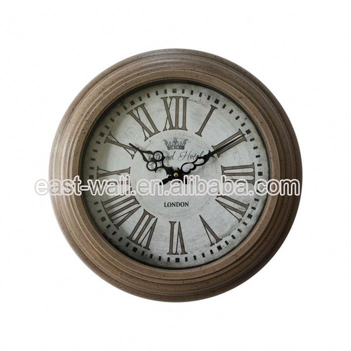 Professional Design Antique Style Cartoon Picture Wall Wedding Gift Clock