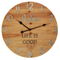Brown Home Decor Meeting Room Wall Clock Modern, Unique Wall Clock Designs