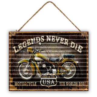 New Metal Wall Hanging Signs Wall Decor Plaque For Home