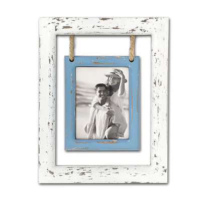 23.5x30x1.5cm Vintage Square MDF Wooden Photo Frame Custom Color