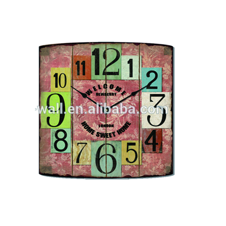Craft Art Sale Price Home Decorative Fashionable Design Creative Items Wall Clock