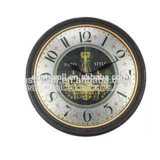 Quick Lead Cheap Price Custom-Made Home Decoration Theme Silent Movement For Wall Clock