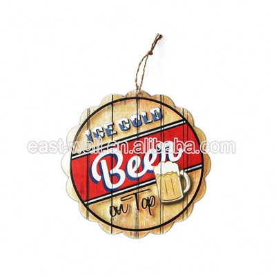 Lowest Price Custom Fit Creative Items Decorative Metal Tin Sign