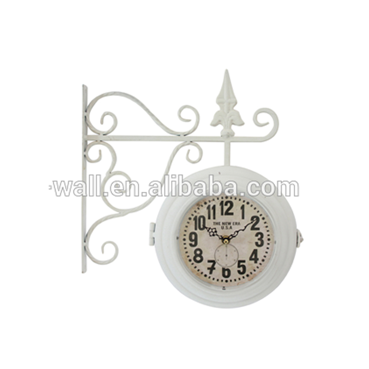 Decoration For Jewellery Shop Art Work Furniture Retro Design Double Sides Clock