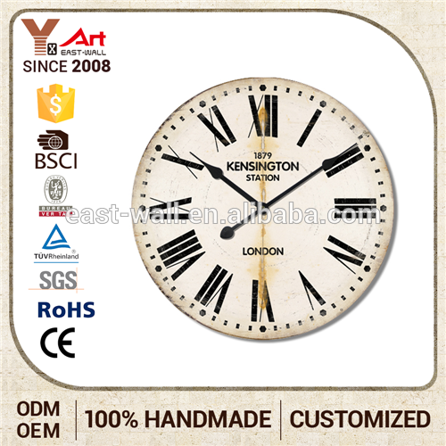 Direct Factory Price Chinese Clock Parts Suppliers Custom Printing Design