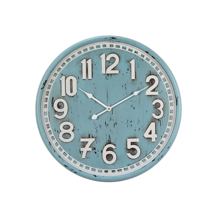 Factory Direct Sale Decorative Clock Retro High quality Fashion Wall Clock