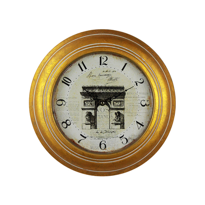 Decorative Roman Numerals Modern Design Retro Wall Iron Decorative Clock