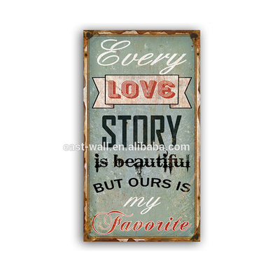 Design Your Own Wall Art DIY Craft Letter Sign Vintage Sign Plaque Love Story
