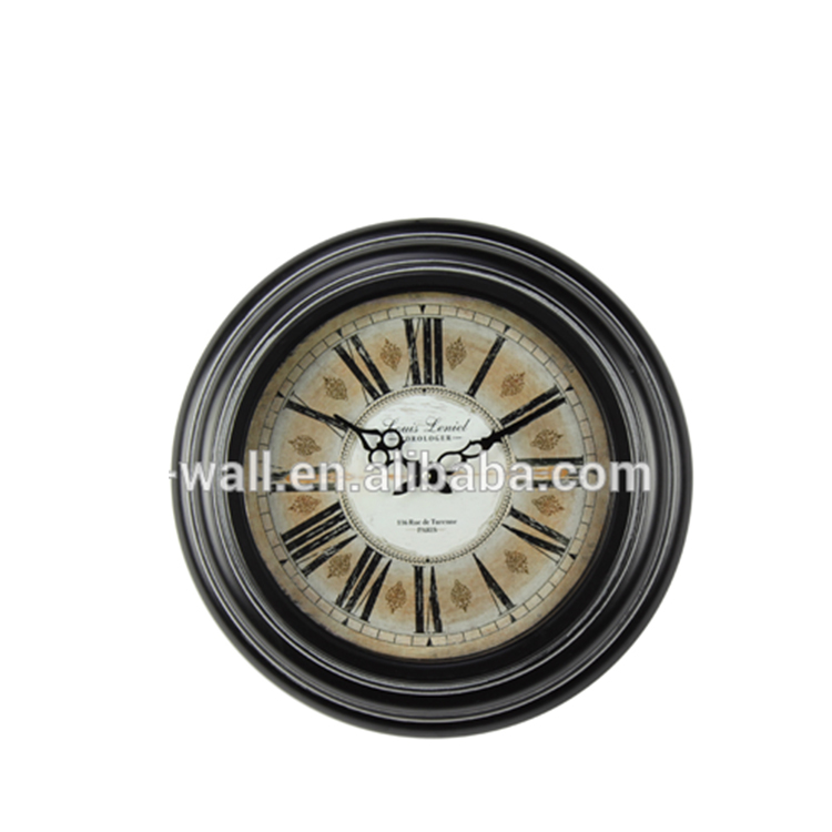 Luxury Quality Craft Projects Classic Design Wall Handicraft Metal Frame Clock