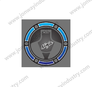 Fuel Tank Cap Sticker For KAWASAKI NINJA 300
