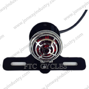 LED Black Shell Tail Light For Harley Davidson